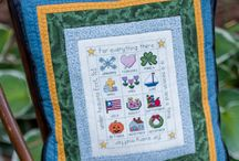 Seasonal Item Patterns / I love to decorate for different months and seasons. These pieced and quilted designs are patterns designed by Michele Crawford for Flower Box Quilts; and are available to purchase online.