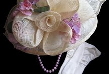 HATS, TOPPERS FOR SPECIAL OCCASIONS
