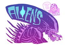 WOOHOO! scary aliens / This board is mostly Alien (*mostly*) but also some other sci-fi  stuff