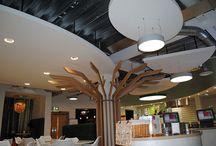 AO.Com, Bolton / Low energy lighting installed over 5 floors for AO.Com in Bolton.