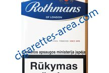 Rothmans cigarettes / Rothmans of London cigarettes brand