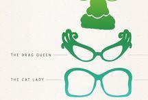 Glasses, spectacles, sunglasses