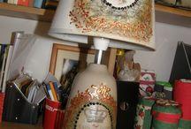 Odnowione lampy / Lubię ratować stare lampy i nadawać im nowe życie