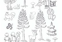 les stromy zvířata