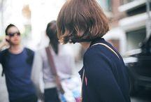 SHORT HAIR • 잛은 머리스타일