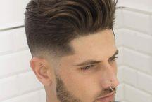 Taglio di capelli sfumato