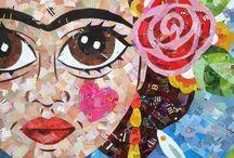 FRIDA KAHLO~ ART / by Pamela Armas