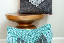 tassle cushion