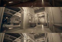 배경 3D / 3D로 제작된 배경