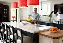Kitchen Ideas / Do we all day dream of the ultimate kitchen? Let's compile ideas and take them to a certified kitchen designer to get the kitchen remodel ball rolling! / by Mosby Building Arts