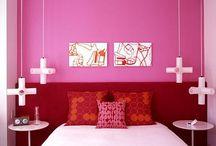 Tribeca Lofts - Spielen Mit Rosa Farbe im Apartment Interior Design