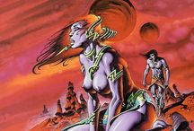 Comic art philippe Caza