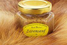 Scharfer Senf / Scharfer Senf, von senfscharf über chilischarf bis höllisch.