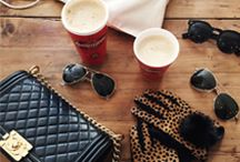 Coffee Style | Best Accessory / Coffee and fashion go hand-in-hand.  What does your favorite drink say about you?