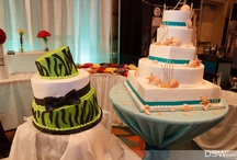 Wedding Cakes / Wedding Cakes and Groom's Cakes.  All photos Copyright of DSWfoto - http://www.dswfoto.com
