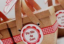 convite picnic
