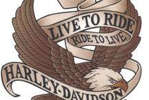 Harley Davidson-Live to Ride Logo