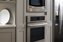 Kitchen Appliances / Appliances are a necessary part of a kitchen. Panels can give a unique look to your kitchen appliances. #prescottkitchens