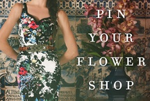 A Floral Fantasie: Anthropologie Edition / This spring is an explosion of brilliant colors and bold patterns. It's imagination coming to life! / by Ashley C