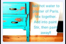 Home Projects: Furniture Painting Ideas