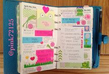 Planners, planning and Journaling