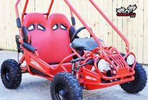 TrailMaster Mini XRX Kids Gokart / #1 Kids Gokart Fully Loaded: Electric Start, Remote Start/Kill, Adjustable Speed Control, Sport Seats, Lights, FREE Battery Tender, MP3 option, Best Mini Size Gokart for kids ages 6-9 163cc  5.5hp Engine, Rack & Pinion, Dual Wheel Drive Torque Converter