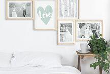 Wanddeko / Inspirationen und Ideen zur Wandgestaltung und Wanddekaration für Schlafzimmer, Wohnzimmer, Flur, Kinderzimmer und Babyzimmer