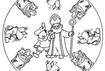 Sinterklaas - Kleurplaten