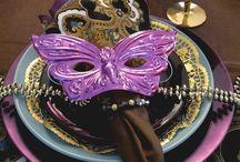 Mardi Gras & Carnival  / Fun and creative ideas for a Mardi Gras themed party.