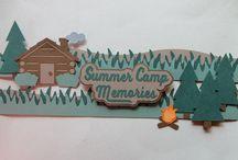 Scrapbooking - Camping
