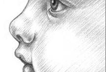 Рисунок графика карандашом