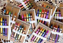 Crayola/Rainbow Theme
