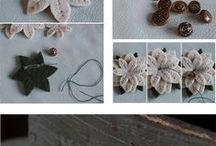 broche de flor de feltro
