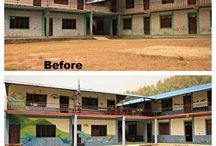 Shree Rupa Jyoti Secondary School / This is what happens when you put great volunteers together with a great school and wonderful group of children.