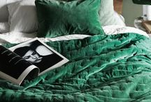 Interior. Color. Emerald