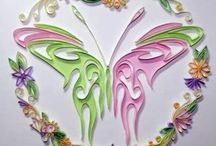 Quilled Butterflies / by 🐾🌸🌸 🐱 Beth Ann 🐱 🌸🌸🐾