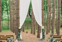 Forests wedding aranjsmente