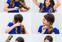 Hair do how to / by Melanie Nolan