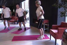 Gym 55+ oefeningen