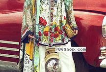 Designer Silk Dresses / Buy Pakistani Indian Designer Silk Dresses online. Custom made and fully stitched Silk clothing.