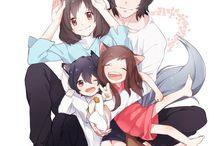 Enfants loups Ame et Yuki (Les)