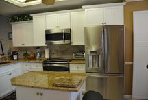 Ceramic Tile Backsplash / Ceramic Tile Backsplash Project & Custom Kitchen  / by Cornerstone Builders