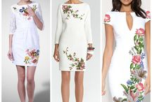 Çiçekli elbiseler