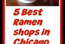 Chicago's 5 Best Ramen Shops / Ramen, Ramen Shops in Chicago, Best ramen shops in Chicago, Furious Spoon, Strings Ramen, Ramen-san, Ramensan, Oiistar, Yusho