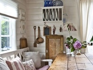 Log house interior / Интерьеры домов из дерева (каркас, бревно, брус)