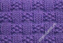 Strik, Knitting / Strikkede karklude