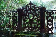 Gates; cemetery, park, garden ect