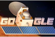 Google Doodle: Mangalyaan Complete One Month in Mars Orbit / Google Celebrate Mangalyaan Complete One Month in Mars Orbit through Doodle http://goo.gl/gnPKZQ