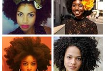 Hair: Kinky, Curly, Coily... / ...and everything in between...