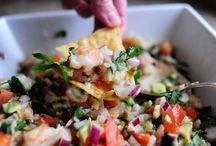Dips and salsas